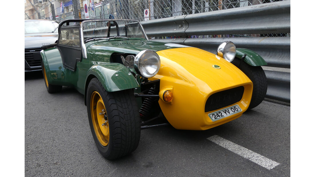 Lotus Super Seven - Carspotting - GP Monaco 2016