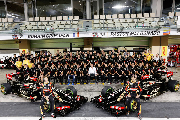 Lotus Teamfoto - Formel 1 2014