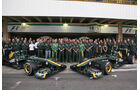 Lotus Teamfoto GP Brasilien 2011