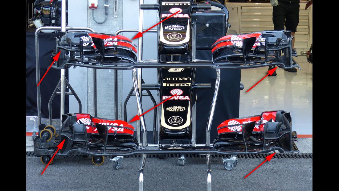 Lotus - Technik - GP Belgien 2015