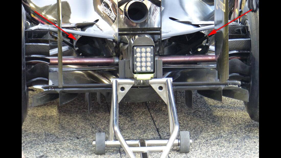 Lotus - Technik - GP China / GP Bahrain - Formel 1 - 2015