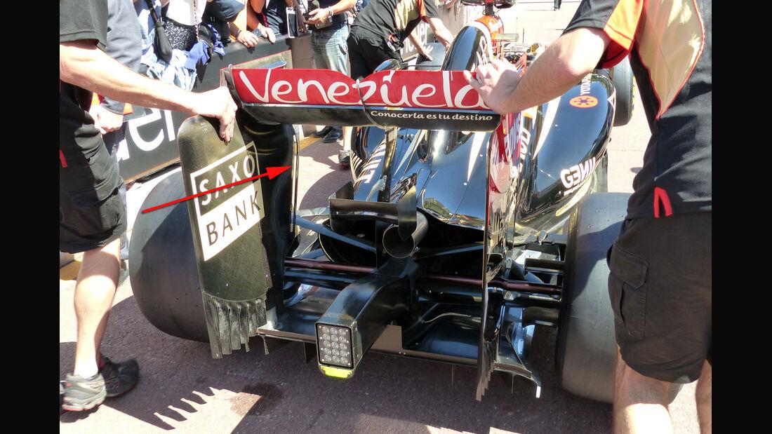 Lotus - Technik - GP Monaco 2014