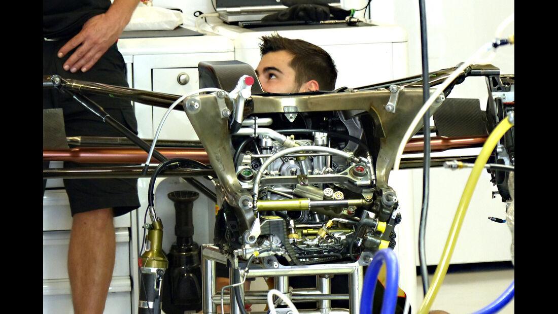 Lotus - Technik - GP Russland 2014