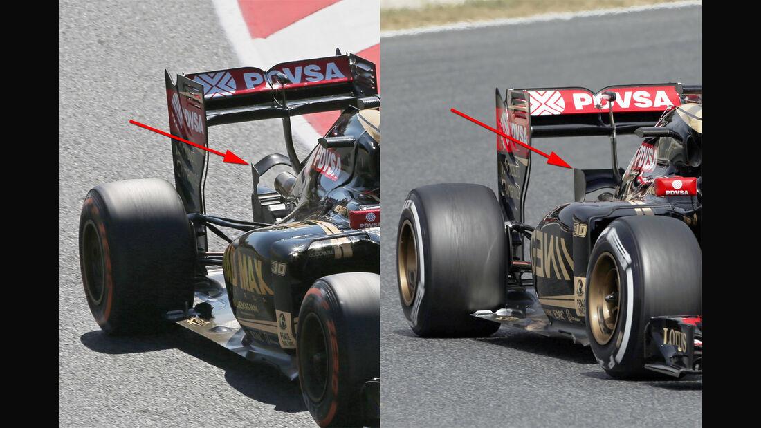 Lotus - Technik - GP Spanien 2015