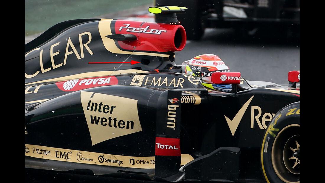 Lotus - Technik - GP Ungarn/GP Deutschland 2014