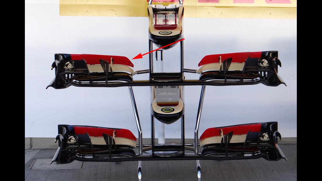 Lotus - Technik - Y250 - Frontflügel - 2013