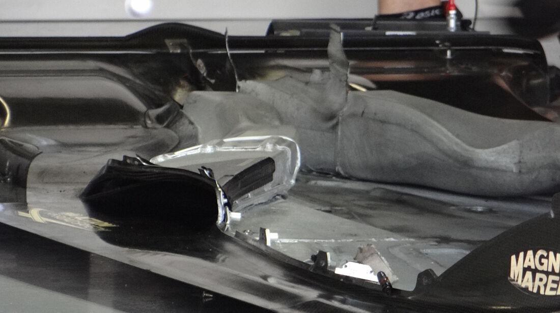 Lotus - Unterboden - Formel 1 2013