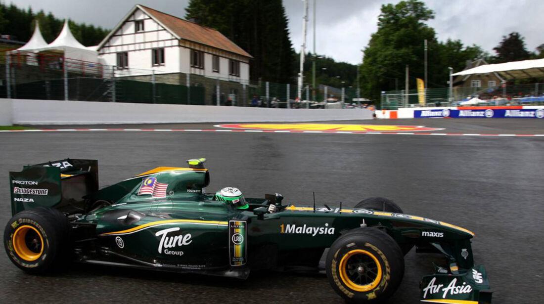 Lotus beim GP Belgien 2010