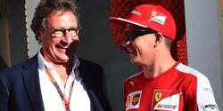 Louis Camilleri - Kimi Räikkönen - Ferrari - Formel 1