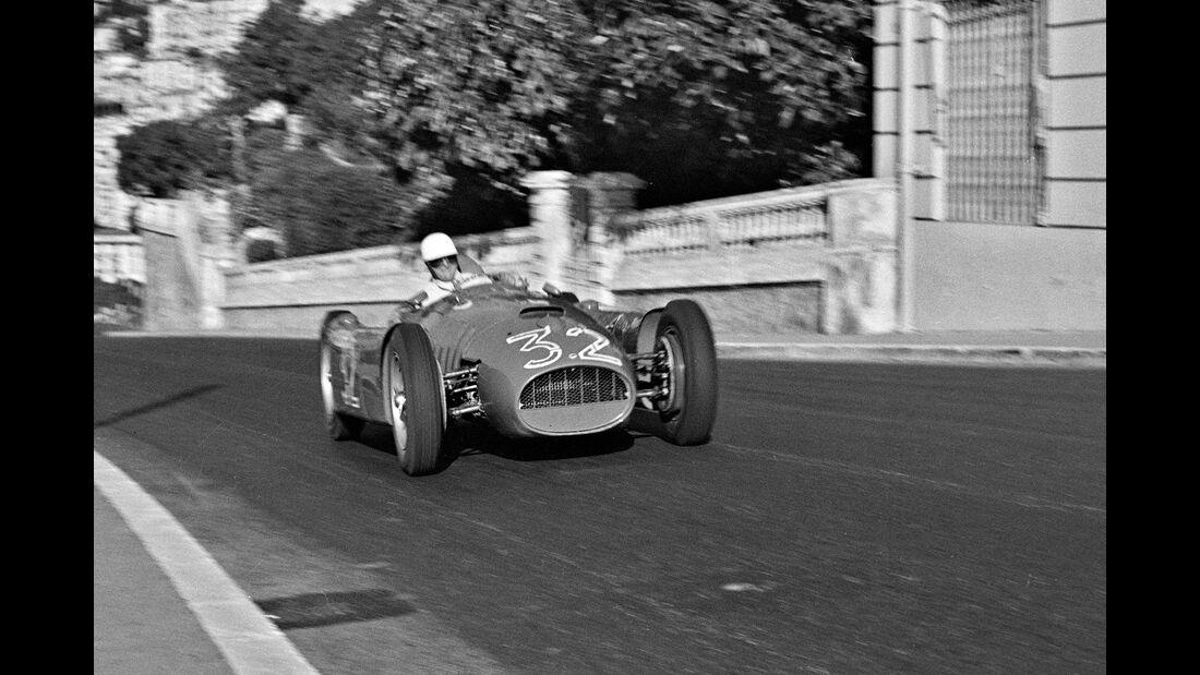Louis Chiron - Lancia D50 - GP Monaco 1955