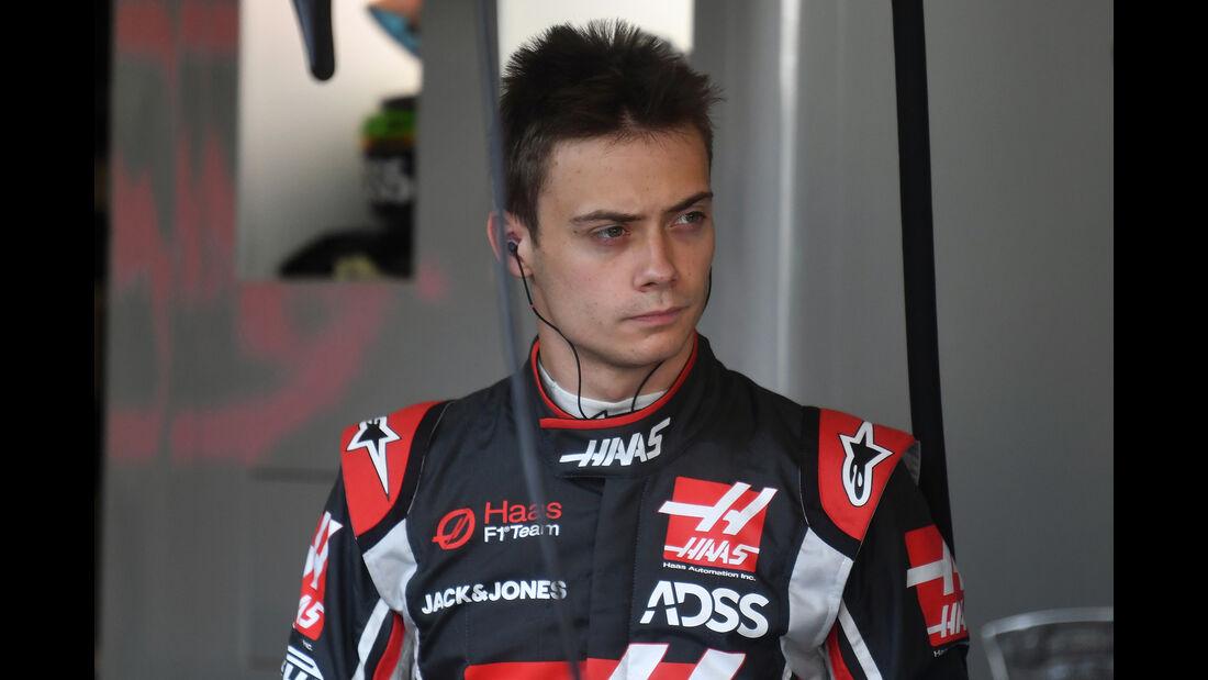 Louis Deletraz - HaasF1 - F1-Test - Abu Dhabi - 28. November 2018