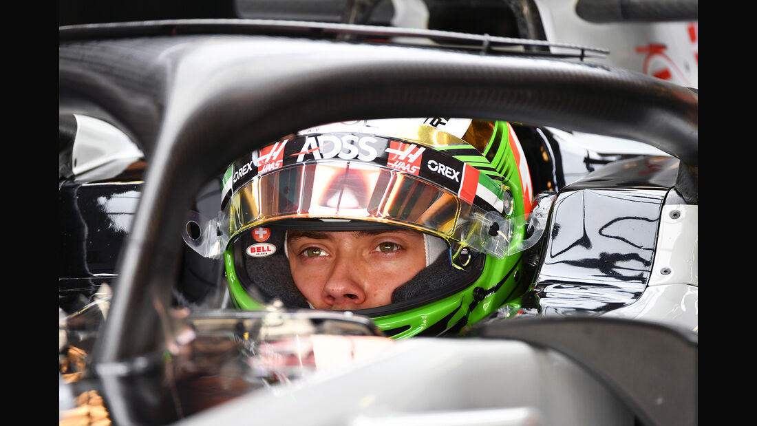 Louis Deletraz - HaasF1 - F1-Test - Abu Dhabi - 28. November 2018