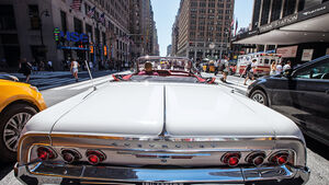 Lowrider in New York, Impression, Reise