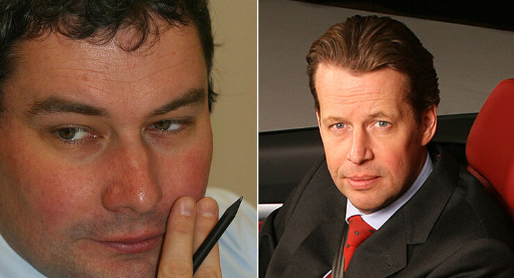 Luc Donckerwolke und Stefan Sielaff