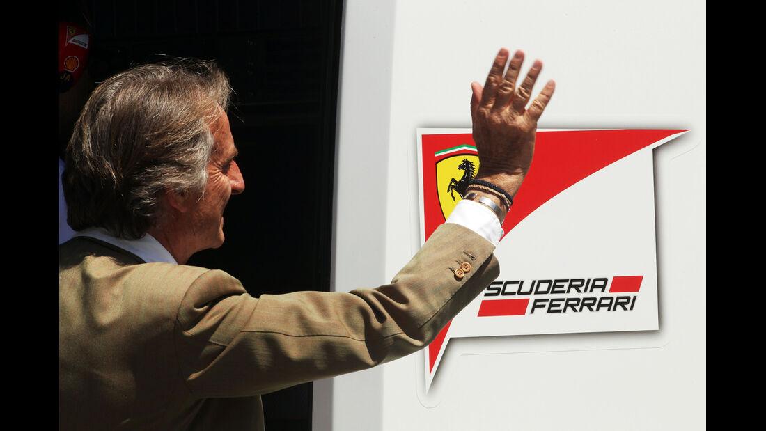 Luca di Montezomolo - Ferrari - Formel 1 - GP Spanien - Barcelona - 9. Mai 2014