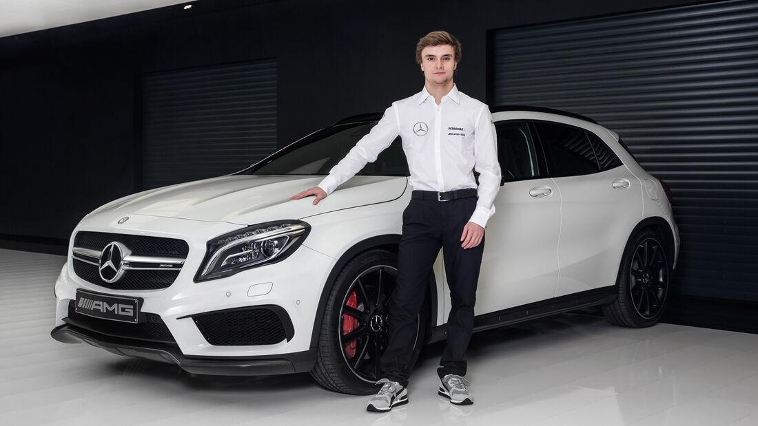 Lucas Auer - DTM - Mercedes - 2015