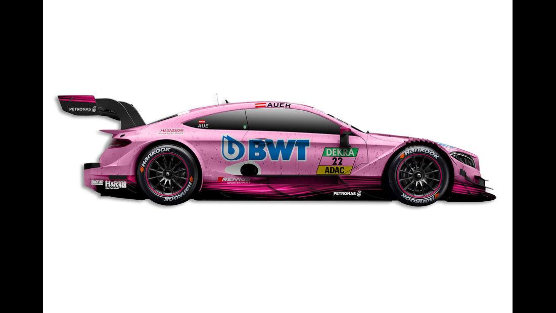 Lucas Auer - Mercedes - DTM-Auto 2017