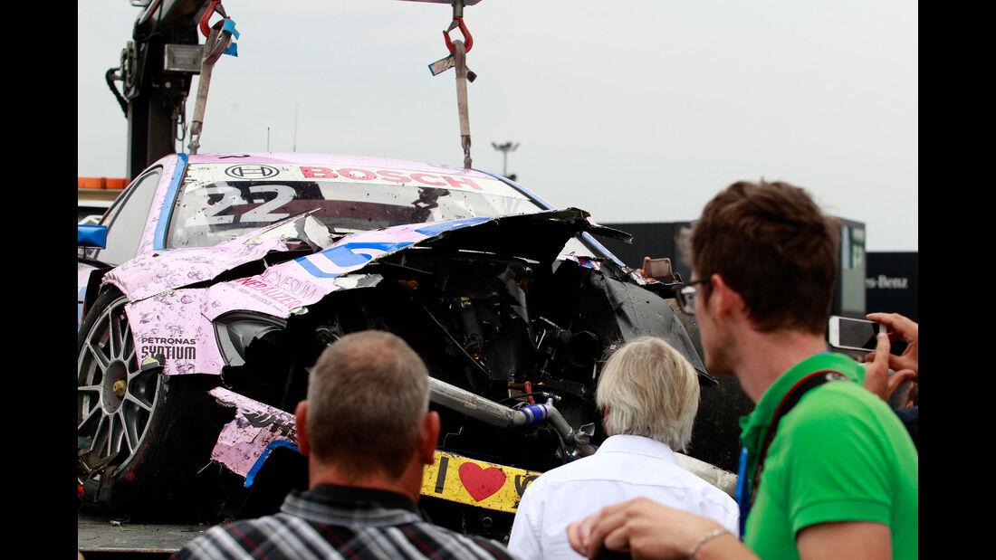 Lucas Auer - Mercedes - DTM - Oschersleben - 2. Rennen - Sonntag - 13.9.2015
