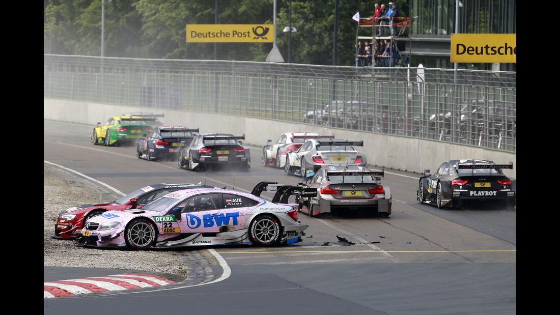 Lucas Auer - Miguel Molina - DTM - Norisring - 27.06.2015