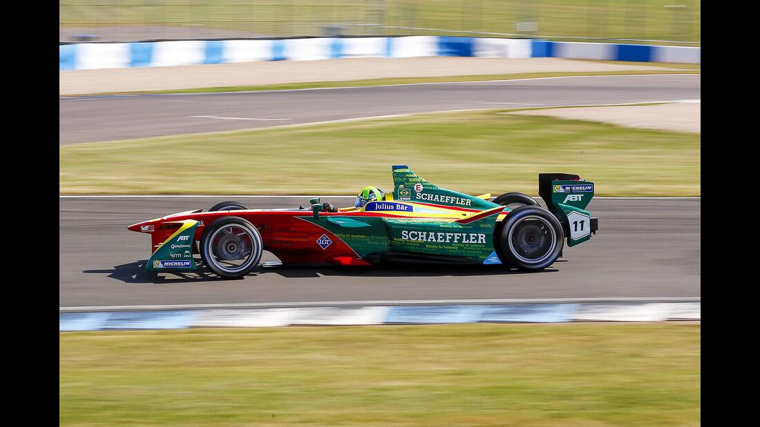 Lucas Di Grassi - Schaeffler - Formel E Test - Donington - 2016