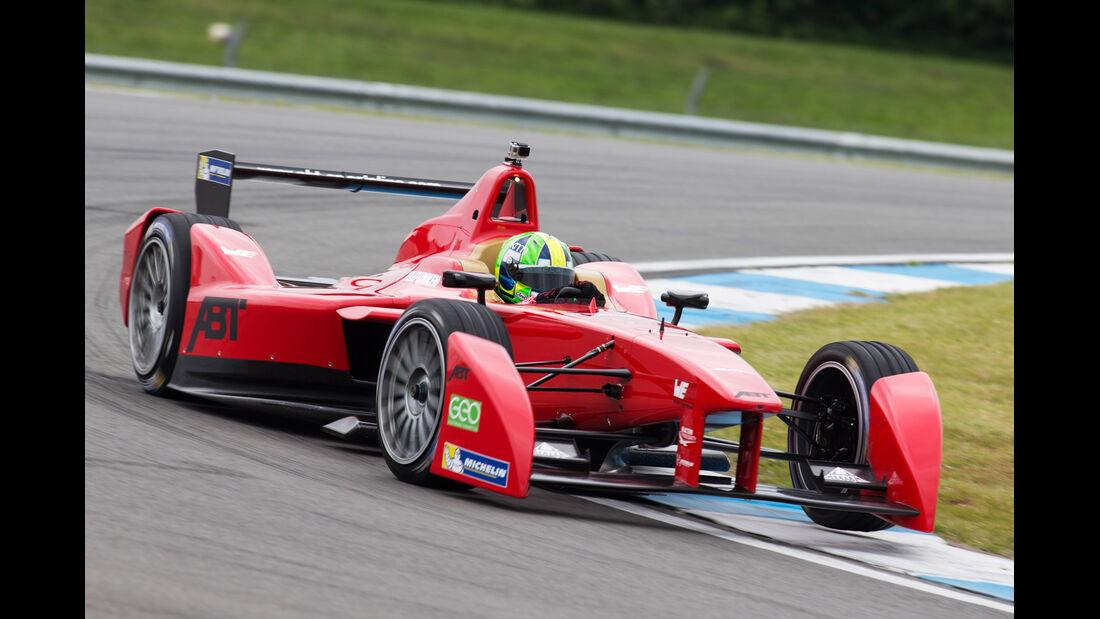 Lucas di Grassi - Formel E-Test - Donington - 07/2014
