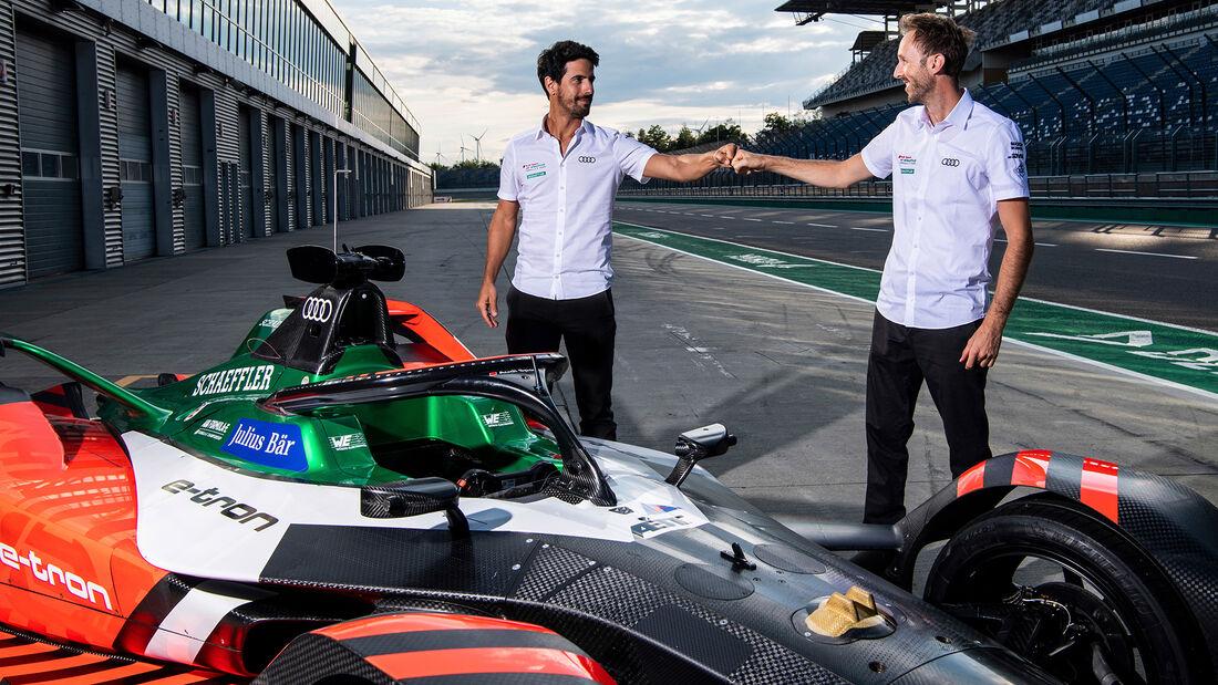Lucas di Grassi - Rene Rast - Audi - Formel E