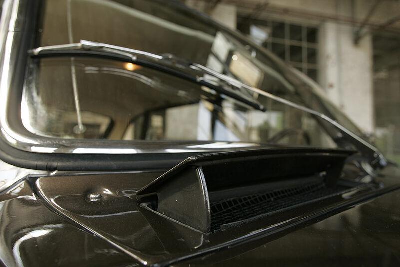 Lüftungsklappe am Renault 16