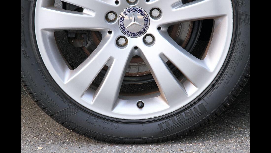 Luftdruck, Reifen