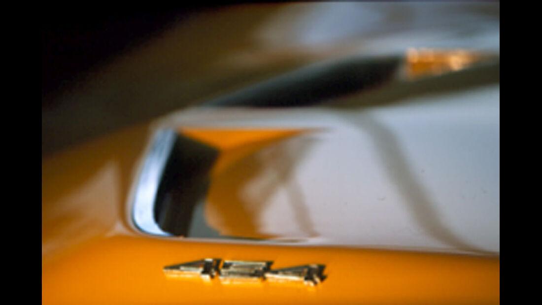 Lufthutze an der  Chevrolet Corvette Stingray 454