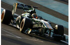 Luiz Razia - Lotus - Young Driver Test - Abu Dhabi - 16.11.2011