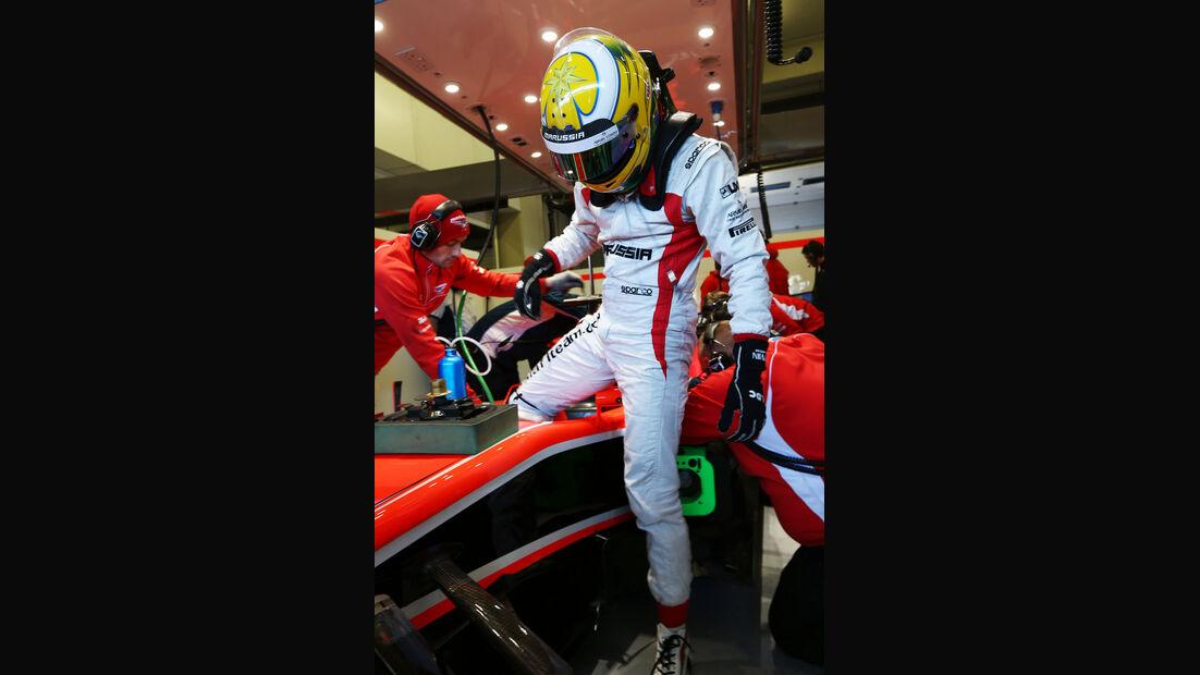 Luiz Razia, Marussia, Formel 1-Test, Jerez, 8. Februar 2013