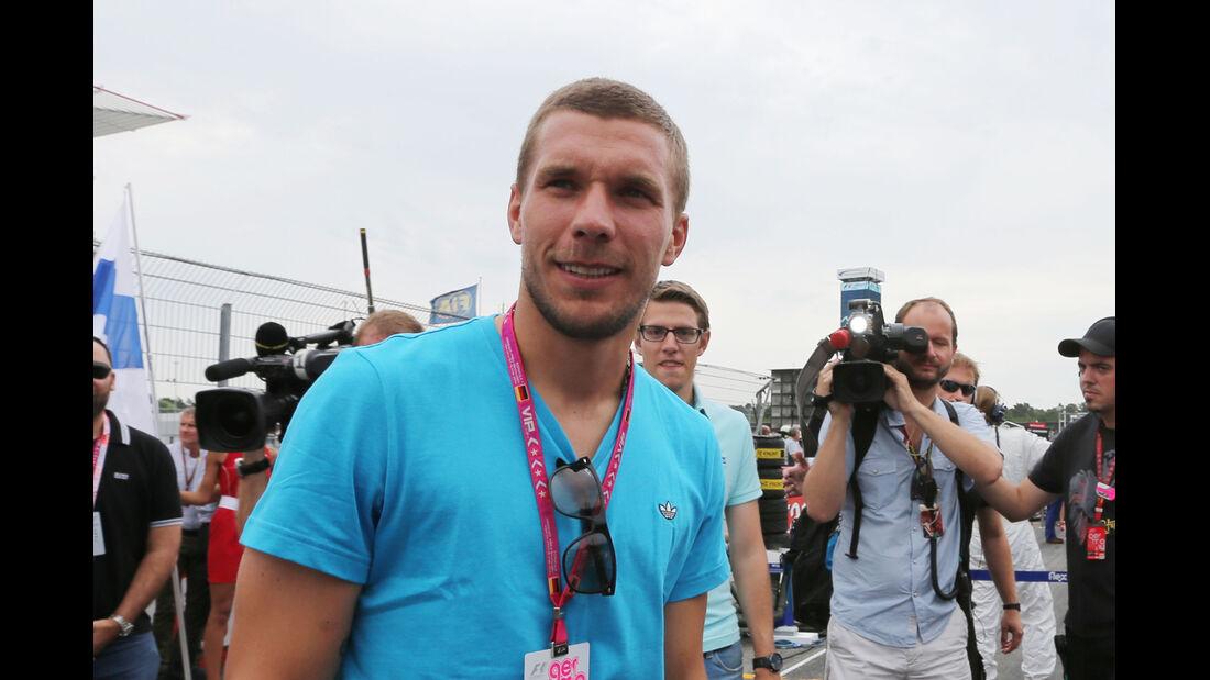 Lukas Podolski - GP Deutschland 2014