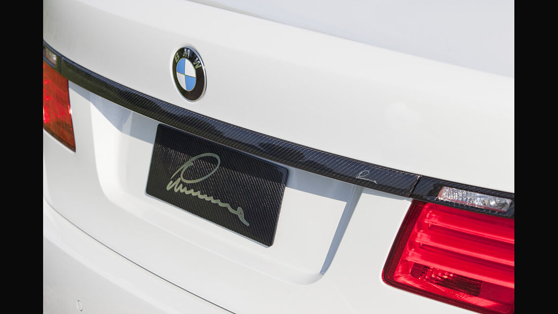 Lumma BMW 7er, Heckblende