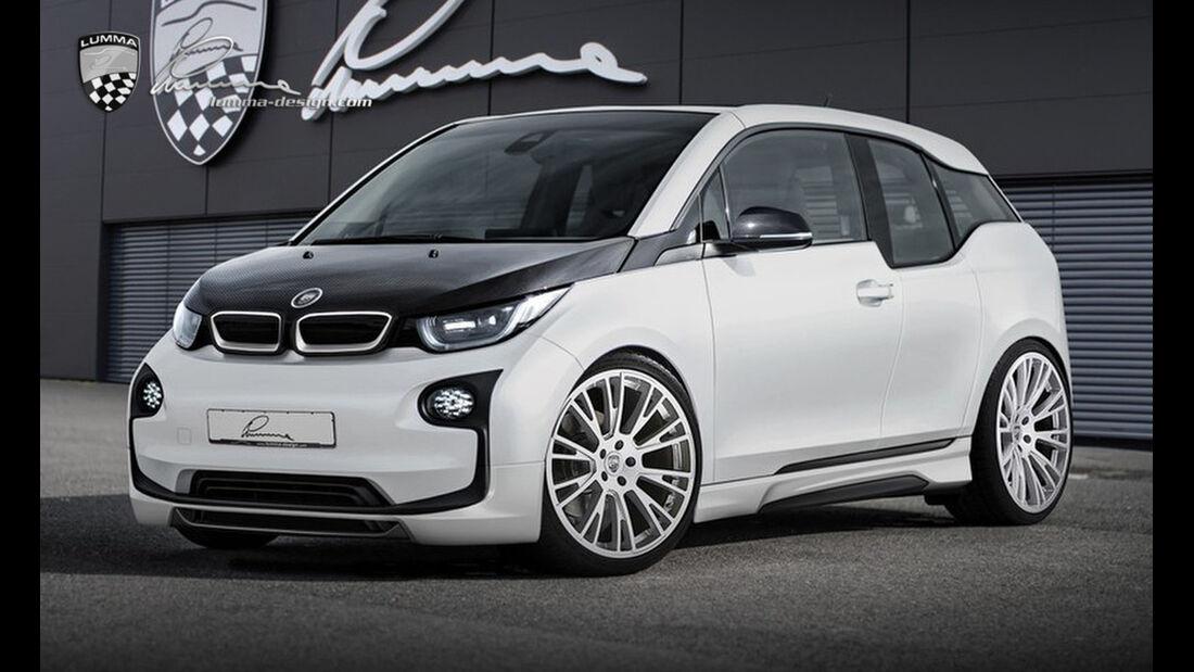Lumma Design, BMW i3, Tuning, LUMMA CLR i3