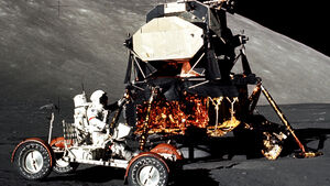 Lunar Roving Vehicle, Mondauto