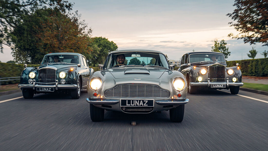 Lunaz Elektro-Umbau Oldtimer Aston Martin DB6