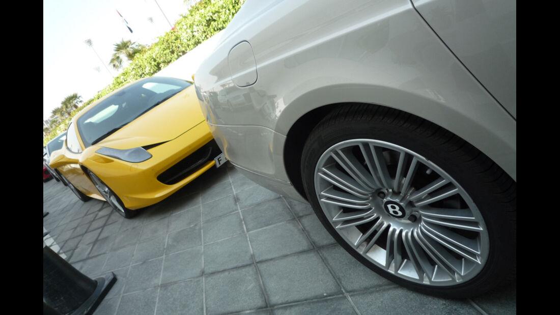 Luxus-Autos Abu Dhabi 2010