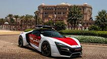 Lykan Hypersports, Abu Dhabi Polizei, Police