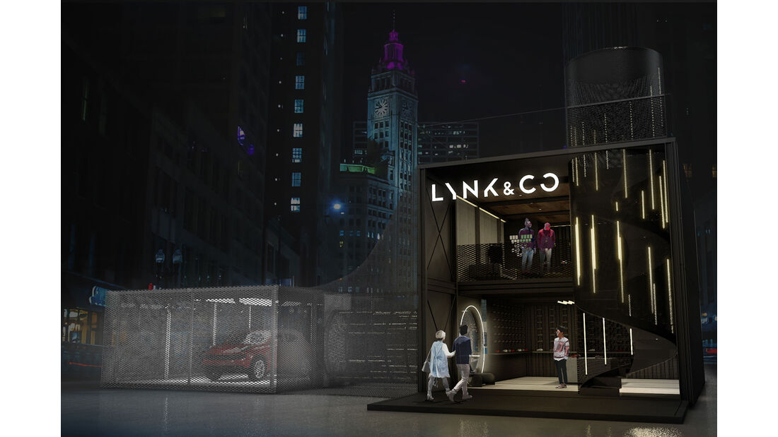 Lynk & Co Pop-up Store Concept