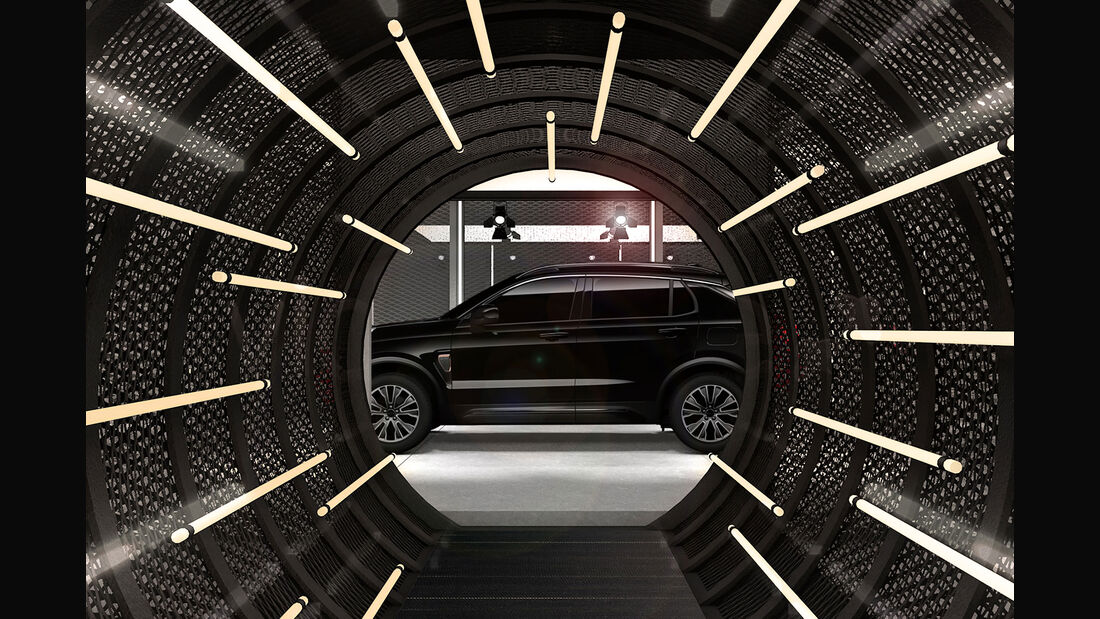 Lynk & Co Pop-up Store Concept Tunnel