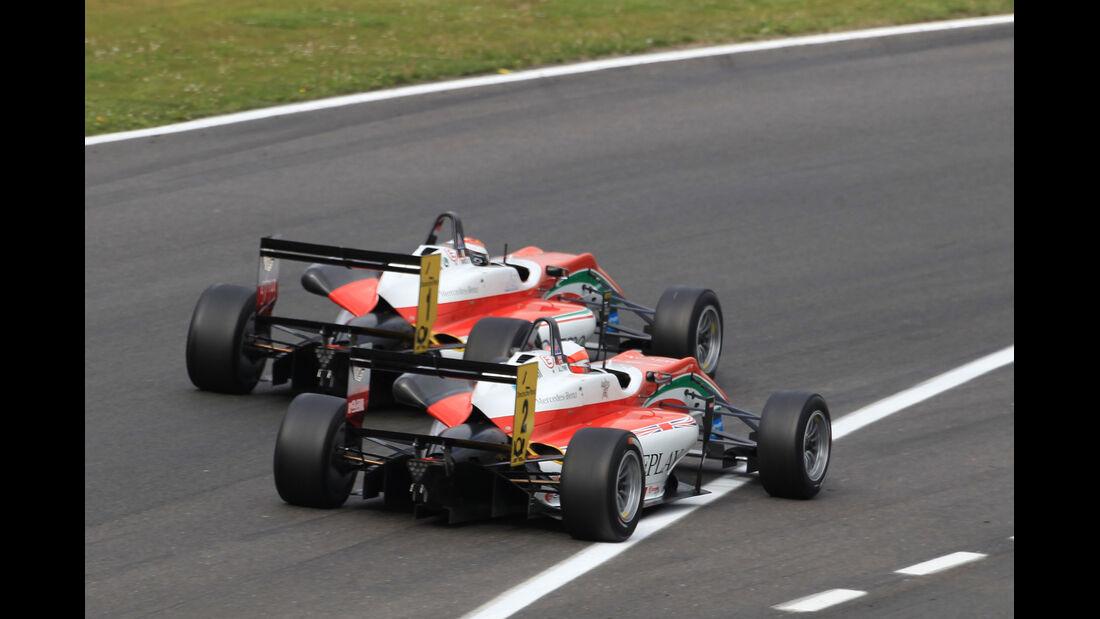 Lynn vs. Marciello - Formel 3 EM - Brands Hatch - 2013