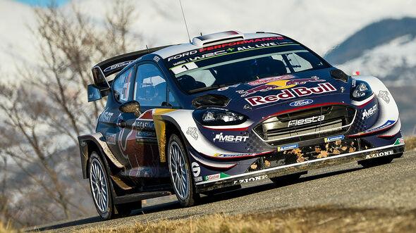 M-Sport Ford Fiesta WRC - Rallye Monte Carlo 2018