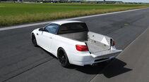 M3 Pickup, Heckansicht