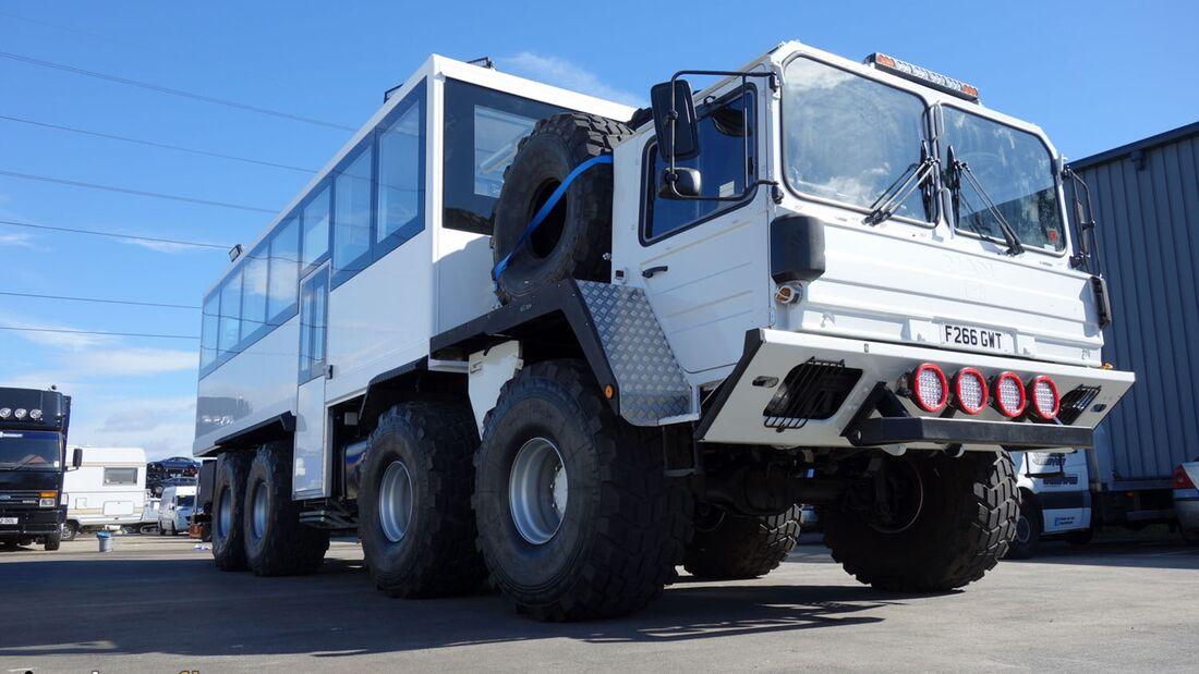 MAN 8x8 Ice Truck Island