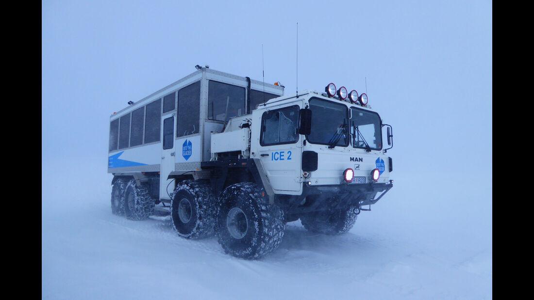 MAN KAT 8x8 Gletscher-Bus