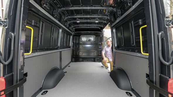MAN TGE 4x4 130 kW Kastenwagen im Fahrbericht
