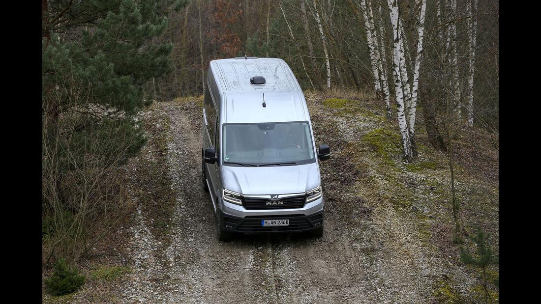 MAN TGE Seikel Offroad-Umbau Fahrbericht