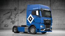 MAN TGX Fußball Truck