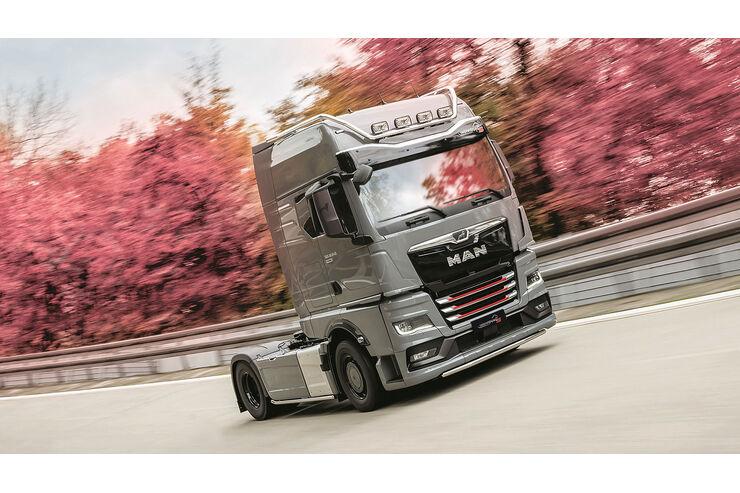 MAN TGX Individual Lion S: Etwas Sport und mehr Luxus für den Super-Truck - auto motor und sport