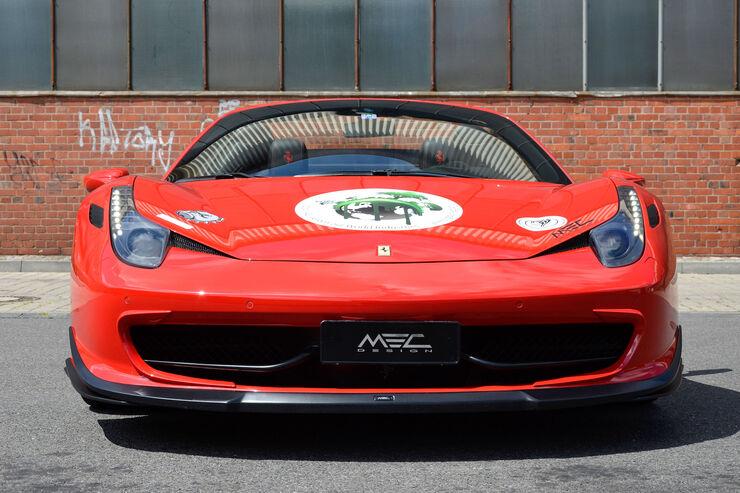 MEC Design tunt Ferrari 458 Spider